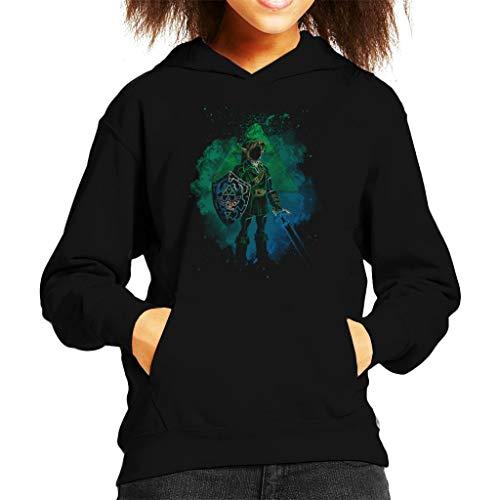 Of Kostüm Zelda Hoodie Link Legend - Cloud City 7 Soul of Hyrule Legend of Zelda Kid's Hooded Sweatshirt