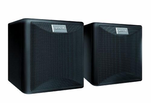 Quadral Maxi 220 W 2-Wege Regallautsprecher Paar (80/130 Watt) schwarz