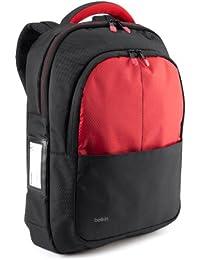 Belkin B2B077-C02 Sac à dos pour PC portable 13'' Noir, Rouge