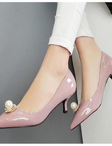 WSS 2016 Chaussures Femme-Décontracté-Noir / Violet / Rouge-Talon Aiguille-Talons / Bout Pointu-Talons-Polyuréthane black-us6.5-7 / eu37 / uk4.5-5 / cn37