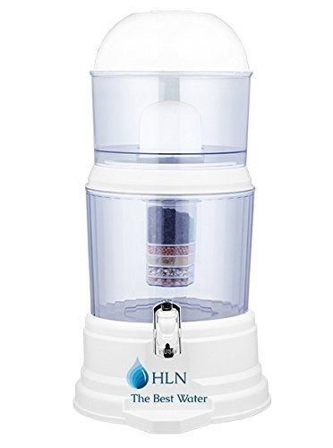 Filtro Purificador de Agua The best Water- Sistema con 5 Funciones: Filtra, Purifica, Mineraliza, Alcaliniza y Preserva - Elimina el Cloro, Bacterias, Químicos Dañinos e Impurezas