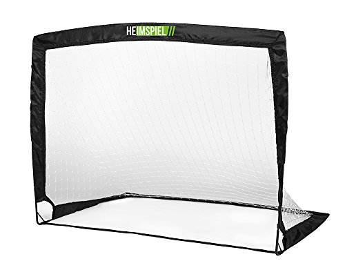HEIMSPIEL Fussballtor POP UP Flex, schwarz, 120 x 90 x 90 cm