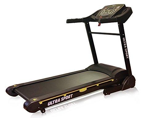Laufband Ultrasport 4.0 1-22 km/h, 6,5 PS maximale PS 22 kmh ,10 fache Dämpfung ,20 % elek Steigung ,HRC Brustgurt inkl, große Lauffläche