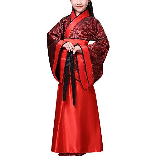 uirend Kleidung Kostüm Erwachsene Mädchen - Antike Chinesische Braut Kostüm Tang Suit National Traditional Hanfu Show Cosplay Bühnenauftritte Tanzen Kleidung (Chinesische Antike Kostüm)