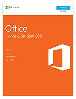 Microsoft Office Home and Student 2016 | PC | Download (B015HW2IRI) | Amazon Products