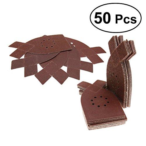 ueetek 50pcs dischi di levigatura in forma di coniglio carta di vetro Levigatrice carta abrasiva 40/60/80/100/120