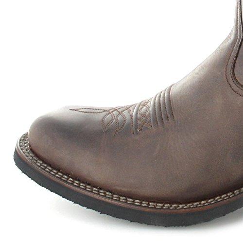 Sendra Boots 11615, Stivali western unisex adulto Marrone (Marrone)