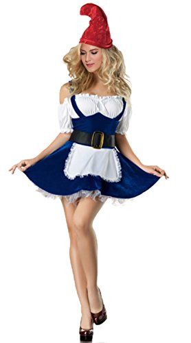 gnome costume women adult sexy halloween garden gnome costume