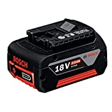 Bosch Professional 1600A002U5 Batería 18 V, 18 W, Negro