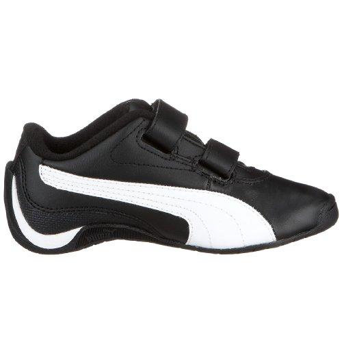 PUMA 303229 07 Drift Cat II L V Kids, Unisex - Kinder Sneaker Schwarz (Black-White)