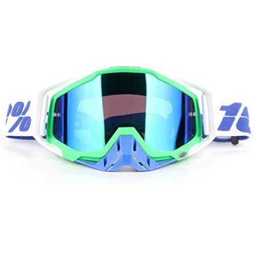 LKHJ Sonnenbrillen Motocross-Schutzbrillen, Die Moto-Fahrrad-Sonnenbrillen ATV-Motorrad-Gläser Laufen