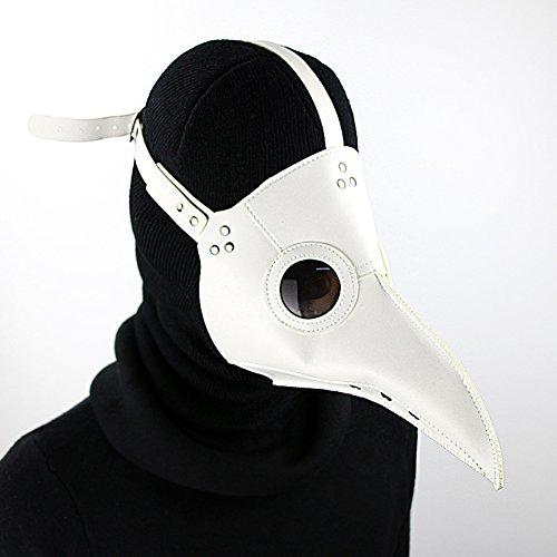 Einfach Steampunk Kostüm - Einfache Pestarztmaske, Steampunk-Pestmaske Für Halloween, Cosplay-Kostüm Mit Langer Nase, Erwachsene Und Kinder