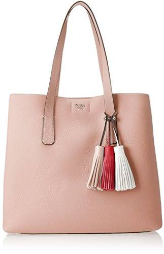 Guess Damen Bags Hobo Schultertasche, Pink (Rose), 12.5x33.5x39 Centimeters -