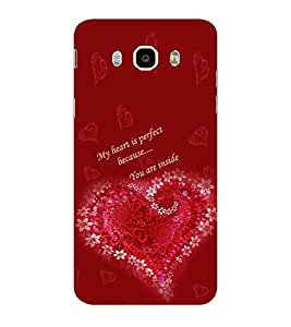 ifasho Love Quotes for love Back Case Cover for Samsung Galaxy On8