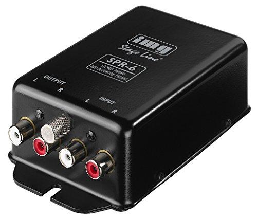 IMG STAGELINE SPR-6 Stereo-Phono-Entzerr-vorverstärker nach RIAA schwarz
