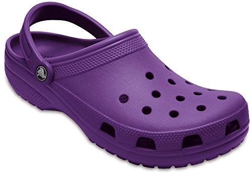 crocs Classic, Unisex - Erwachsene Clogs, Violett (Ultraviolet), 38/39 EU