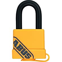 Abus 53970 - Candado industrial (latón, 40 mm, moderno) color amarillo