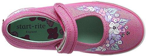 Start Rite Summer Serenity, Baskets Basses Fille Rose (Pink Sparkle)