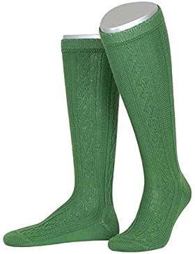 Lusana Herren Kurzhosenstrumpf smaragd, 36 - smaragd,