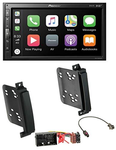 caraudio24 Pioneer SPH-EVO62DAB USB MP3 DAB 2DIN Bluetooth Autoradio für Jeep Grand Cherokee Dodge Durango ab 11 Quadlock (Jeep Grand Cherokee Radio-bildschirm)