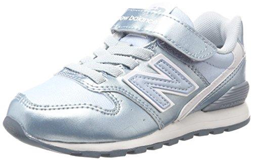 New Balance Unisex-Kinder Sneaker, Blau (Blue), 35 EU (2.5 UK) (Balance Mädchen)