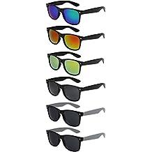 X-CRUZE® - Lunettes de soleil unisexe, femmes, hommes - Style Nerd 847cd177099c