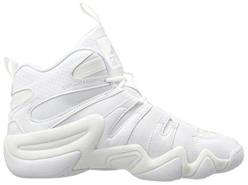 Adidas Performance Crazy 8 chaussure de basket, clair Onix, 6,5 M nous White/White/White