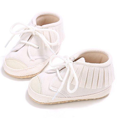 Bebé Sneakers Sapo Bege Mocassins Franja Sapatos Fogo Walker xqU717Hw