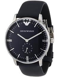 Emporio Armani AR1647 - Reloj analógico de cuarzo para mujer, correa de cuero color azul