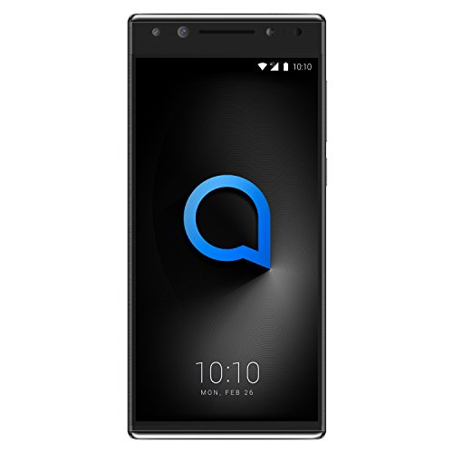 "Alcatel 5 - Smartphone DE 5.7"" (Quad-Core 4 x 1.5 + 4 x 1 GHz, Memoria 32 GB Ampliable hasta MicroSD de 128 GB, Cámara DE 16 MP F2, Android 7.1) Color Negro"