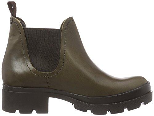 Fly London - Mena, Chelsea Boots da donna Verde (Olive 002)