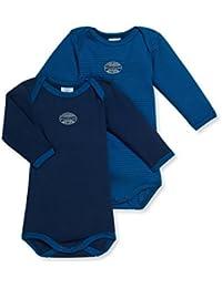 Petit Bateau Baby-Jungen Body 2er Pack