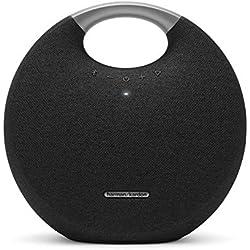 Harman Kardon Onyx 5-Haut-Parleur Portable Bluetooth 4.2(connecteur Jack et Batterie Rechargeable) Noir