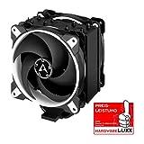 ARCTIC Freezer 34 eSports DUO - Dissipatore di processore semi-passivo con 2 ventole da PWM 120 mm per Intel 115X/2011-3/2066,AMD/AM4, Dissipatore per CPU con raffreddamento fino a 210 W - Bianco