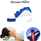 Adaym Chiropractic Pillow - Neck and Shoulder Relaxer Cervical Pillow Neck Traction Device