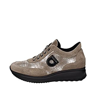 Agile By Rucoline 1304(10) Low Sneakers Women Brown Taupe 39