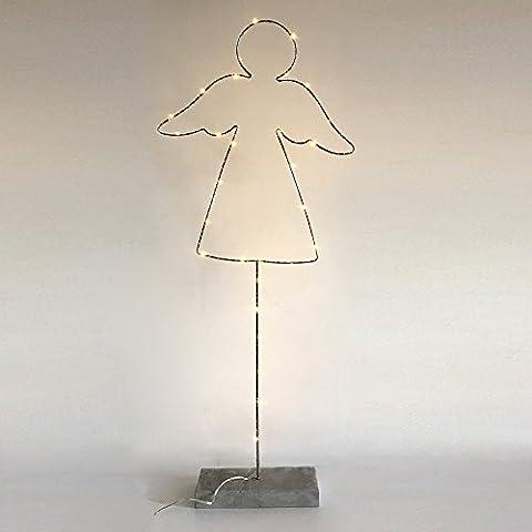 Lampe à poser Ange LED (H.50cm) socle béton