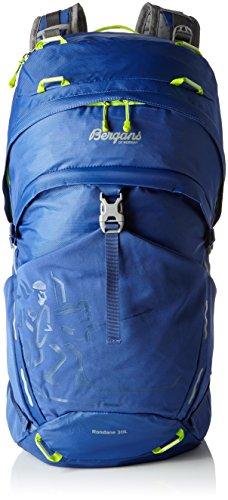 Bergans Rucksack Rondane Blue/Neon Green, 50 x 26 x 23 cm, 30 L