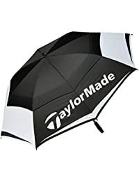 """TaylorMade 2017 TM Tour 64"""" Auto Opening Double Canopy Mens Golf Umbrella"""