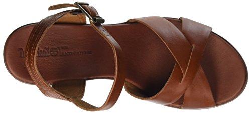 Timberland Damen Roslyn_roslyn Ankle Strap Sandal Knöchelriemchen Braun (Medium Brown Eastlook)