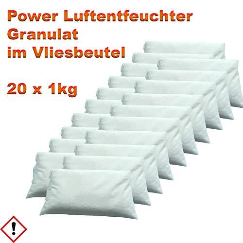 Luftentfeuchter Granulat im Vliesbeutel 20 x 1 kg -