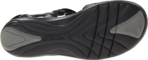 Clarks Morse Tour Sandalo Black Leather