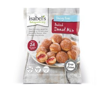 Isabel's Dairy Free Baked Donut Mix 100g