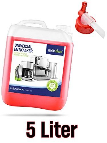 Entkalker Kanister inkl. Ausgießer für Kaffeevollautomaten Kaffemaschine Vollautomat - 5 Liter...