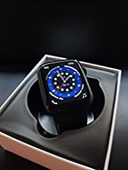 IWO W26+ Fully upgrade smartwatch with 320*385 Resolution full screen & Bluetooth calling (Bl