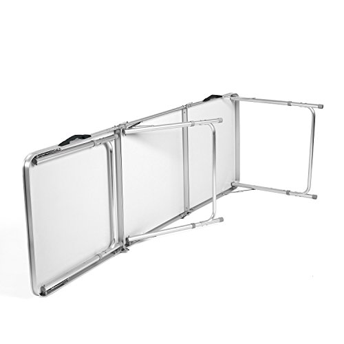 HOMFA 180cm Campingtisch Klapptisch Aluminium Gartentisch