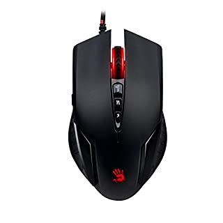 A4TECH V5MA Bloody Gaming Maus schwarz/rot