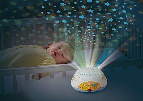 Schlafmobile Sternenlicht mit 3 süßen, weichen Plüsch-Schäfchen - Schlafmobile, Schaefchen, Multicolour, Mobile, baby einschlafhilfe bett