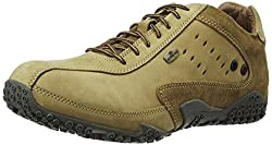 Woodland Mens Camel Leather Hiking Boot - 8 UK/India (42 EU)