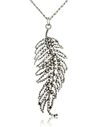 Feather necklace - Christmas feather necklace for women - with gift bag